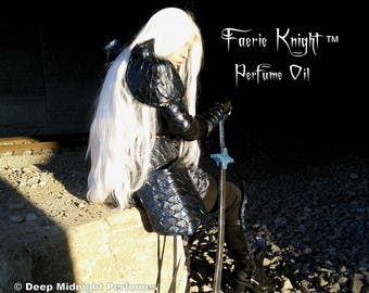 Faerie Knight™ Perfume Oil - Amber, Cedarwood, Oak, Grass, Honey, Clove, Rose, Bluebell, Citrus - Inspired by Roiben