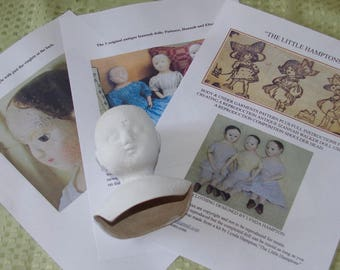 "Reproduction Izannah Walker Doll Kit  for Patience a 15"" doll."
