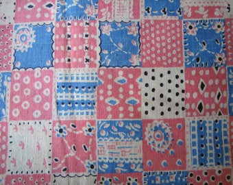 Antique Feedsack Floursack Broadcloth -  Fabric from the 1930s-1940s. (Ref: A-5092/1 Box 5)
