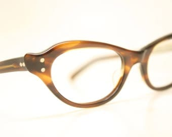 Unused Tortoise Vintage Cat eye glasses cat eye frames NOS