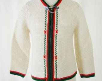 Child's Sweater German Wool by Vollmer Modell