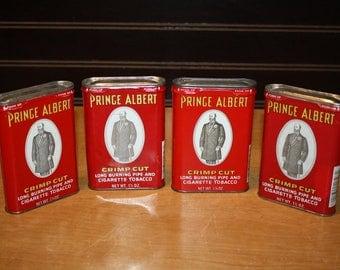 Prince Albert Tobacco Tins - set of 4 - item# 2848-5