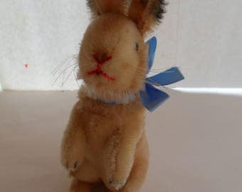Steiff rabbit mohair button flag  made in Germany 2241