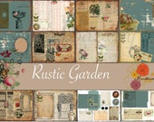 Rustic Garden (Digital paper)