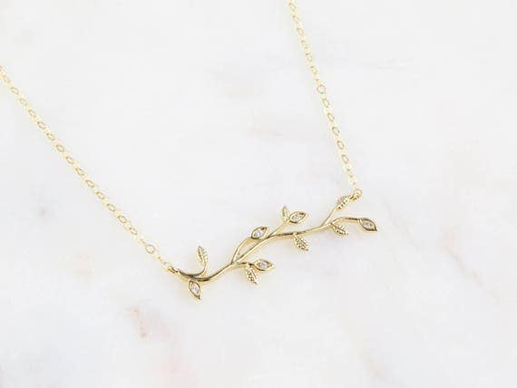 Tree-Of-Life Necklace | Family Tree Necklace | Branch Necklace | Dainty Tree Necklace | Tree Of Life | Anniversary Gift | Gift For Her