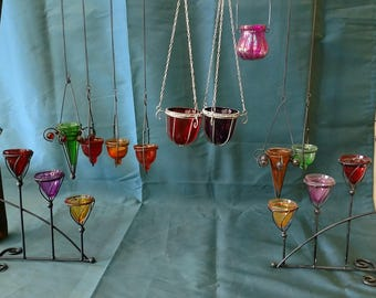 MOVING SALE!! - Mixed Lot Candleholders - 40