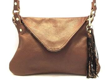 ON SALE Brown Crossbody Purse / Leather Crossbody / Crossbody Bag / Brown Leather Purse / Brown Cross Body Bag / Cross Body Purse