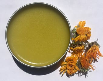 Healing Salve | organic herbal first aid ointment, skin soothing, heals cuts, salve for your skin and body, all natural diaper rash salve