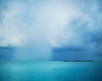 Stormy Seas - Fine Art Photograph, Islamorada, Ocean, Atlantic, Vacation, Travel Photography
