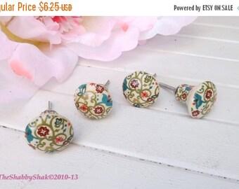 on sale paisley floral colorful ceramic knob dresser pull cabinet knob - Decorative Cabinet Knobs