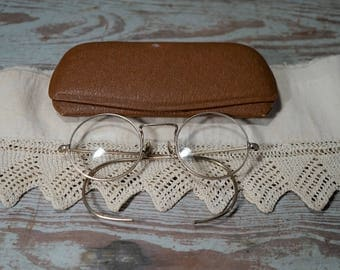 Antique Round Eyeglasses