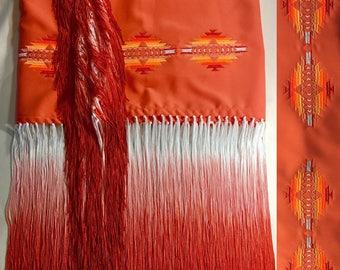 Native style shawl