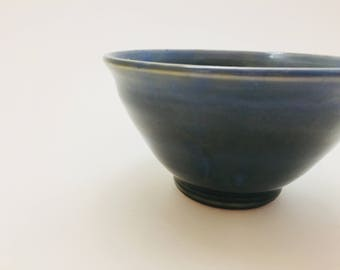 Blue-Green Flared Bowl