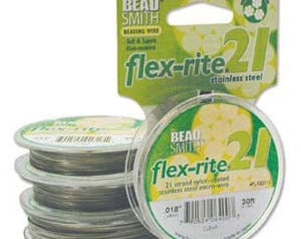 Flex-rite BeadSmith 21 strand size .024 Clear