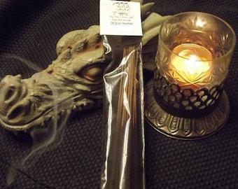 ENERGIZING Hand Dipped Stick Incense -- Citrus, Positive Energy, Alertness