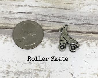 Roller skate charm necklace