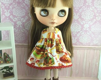 Blythe Dress - Fast Food Frenzy