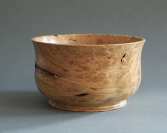 Box Elder Burl Bowl