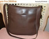 Sizzling Summer Sale COACH~Coach Bag~ Coach Bag 6003~Vintage Coach~ Brown Coach~Organizer Bag
