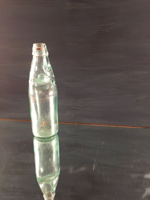 Vintage Gift Green Glass Bottle Codd S Marble Stopper