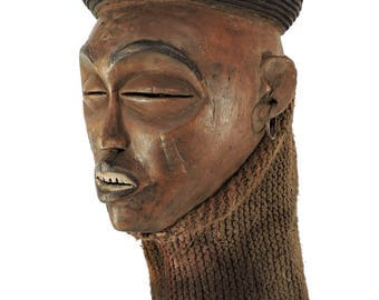 Chokwe Mask Mwana Pwo Angola Congo African Art 107216