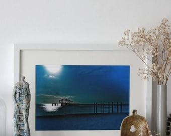 ON SALE Brighton & Hove West Pier Art Print