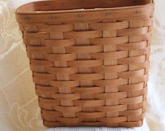 Set of 2, Longaberger, Basket, Mail Basket, Storage, Coupons, Mail