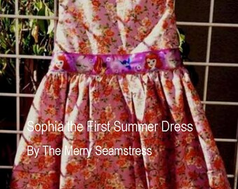 Sofia the First Summer Dress