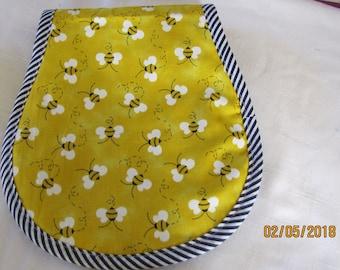 Bumble Bees Burp Cloth