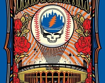 Dead & Company Official Concert Poster, Citi Field, NY, NY