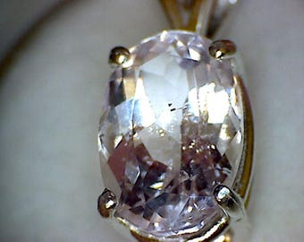 Stunning Pakistan Morganite Pendant