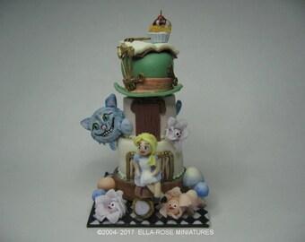 12th scale miniature Wonderland Celebration Cake