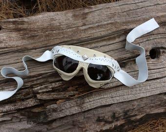 White gemstone goggles! Burners delight