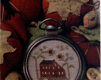 With Thy Needle & Thread: Summer Saltbox - Cross Stitch Pattern