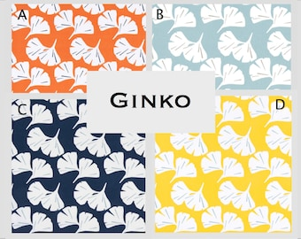 Custom Baby Crib Bedding- Design Your Own Modern Bedding- Dorm Bedding- Glider Cushions- Ginko