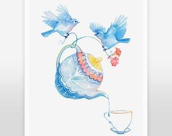 ART PRINT / Tea Time