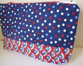 makeup bag/makeup pouch/zipper pouch/toiletry bag/americana