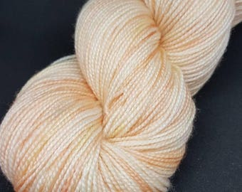 Hand Dyed Superwash Merino 4ply sock shawl yarn knitting, crochet wool