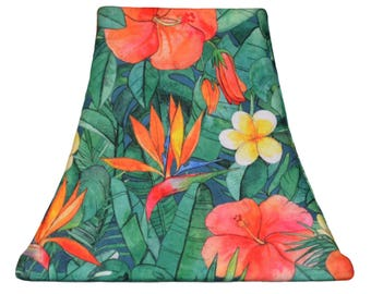 Birds of Paradise - SLIP COVERS for lampshades