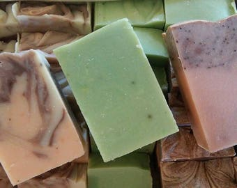 Three 5-5.5 oz. Soaps for 18 Dollars, Inglenook Soaps, Handcrafted, Essential Oils, Fragrance Oils, Shea Butter