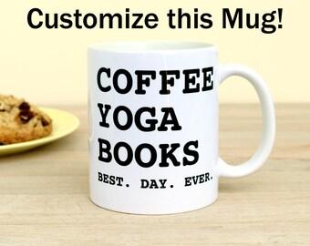 Custom Mug Best Day Ever Customized Mug Personalized Coffee Cup Birthday Gift