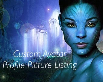 Custom Listing: Avatar Yourself Personalized Portrait Picture