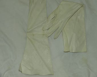 Vintage Opera Length Kid Gloves