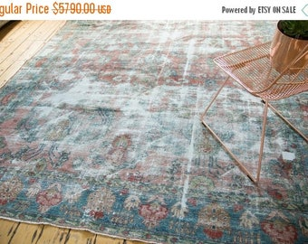 10% OFF RUGS 8.5x11.5 Vintage Mahal Carpet