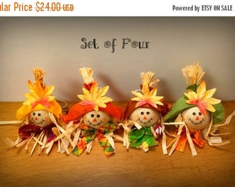 On Sale Thanksgiving Napkin Rings Fall Napkin Rings Scarecrow Napkin Rings Fall Table Decor Fall Table Centerpiece Thanksgiving Table Decor
