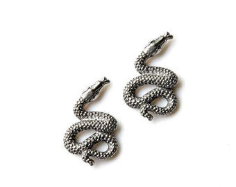 Limited Time Offer Snake Cufflinks - Gifts for Men - Anniversary Gift - Handmade - Gift Box Included
