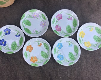 Set of Vintage French Plates