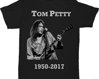 RIP Tom Petty Tshirt Rest in Peace Tom Petty