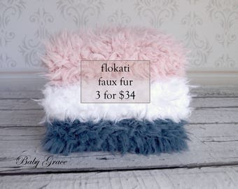 Faux Flokati Fur, Newborn Photo Prop, Faux Fur Fabric, Flokati, Faux Fur Newborn, Photography Prop, Newborn Photo Backdrop, Faux Fur Blanket
