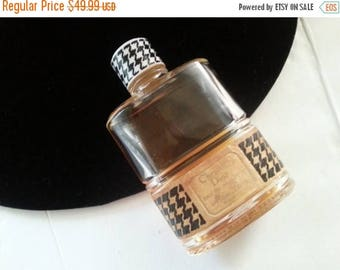 Now On Sale 1950's Christian Dior Perfume Bottle * Mid Century Vanity Home Decor * Very Rare Couture Designer Perfume Bottle